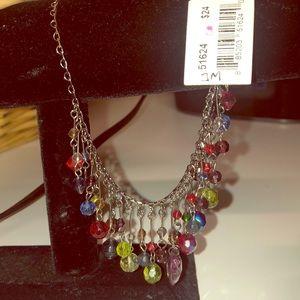 Cookie Lee multi-color necklace